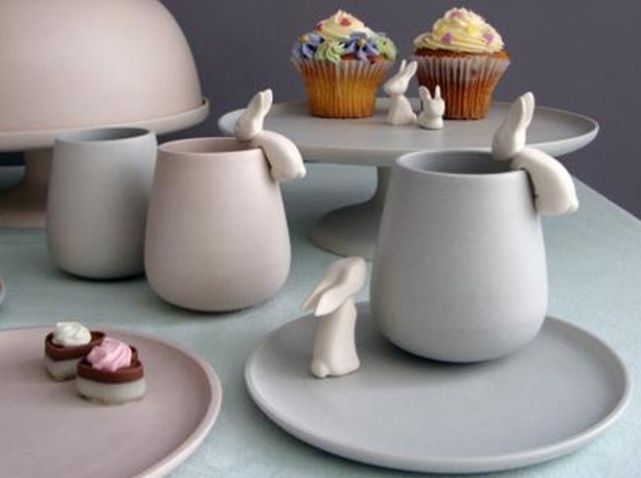 Table paques lapin