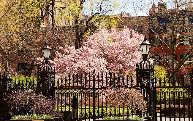 Secrets of Gramercy Park. *You can't get out without a key.* Is open to public December 24 only