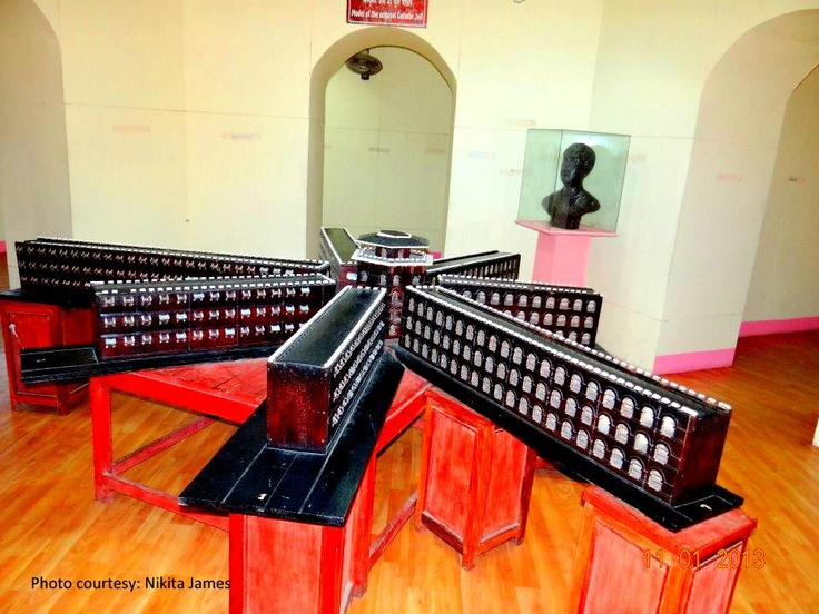Model of the Cellular Jail...Port Blair
