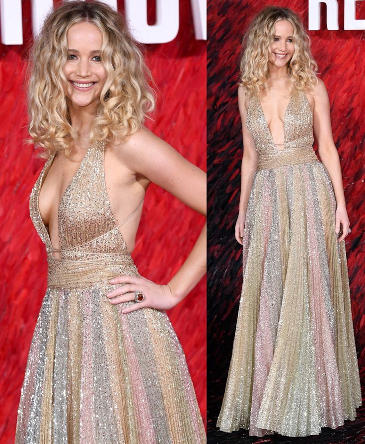 She looks so happy Jennifer Lawrence at Red Sparrow Premiere 2018