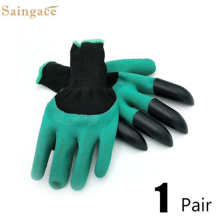Saingace Guantes De Jardín con 4 Garras de Plástico ABS para la Plantación de jardín Cavando Wonderful3.20/20% 1314