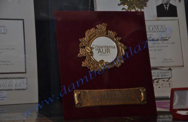 """Evenimentul este dedicat Festivalului """"Crizantema de Aur"""" Ediția a 50-a jubiliară, 2017. Spațiul muzeal, unic în România, a fost realizat cu sprijinul Consiliului Județean Dâmbovița, al Primăriei și Consiliului Local Târgoviște."""