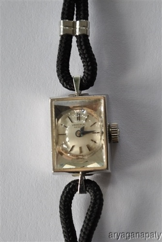Antique Universal Geneve Swiss Ladies Watch 14K White Gold ANTamp VINTAGE WATCHES LADIES