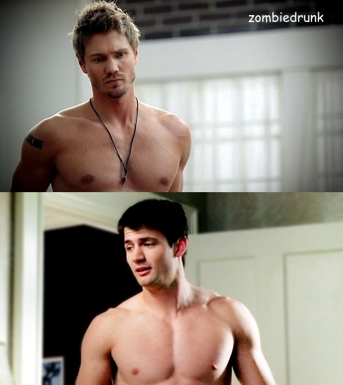 James Lafferty..... and Chad Michael Murray, I like James better though..... :0