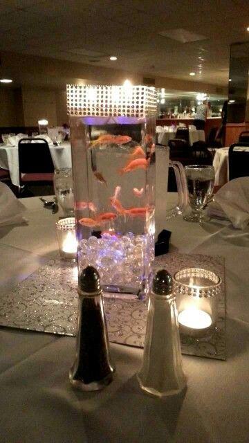 Centerpiece !   Live fish!