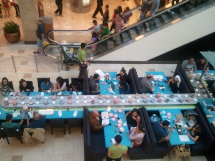 Rotating Sushi Bar , I need to go to the one in Torrance omgeeee ...