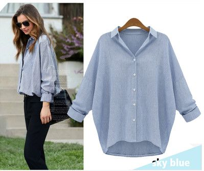 >> Click to Buy << Big size 5XL Women Clothing Blusas Loose cardigan High low shirt women camisetas manga larga mujer ladies office shirts haut fem #Affiliate