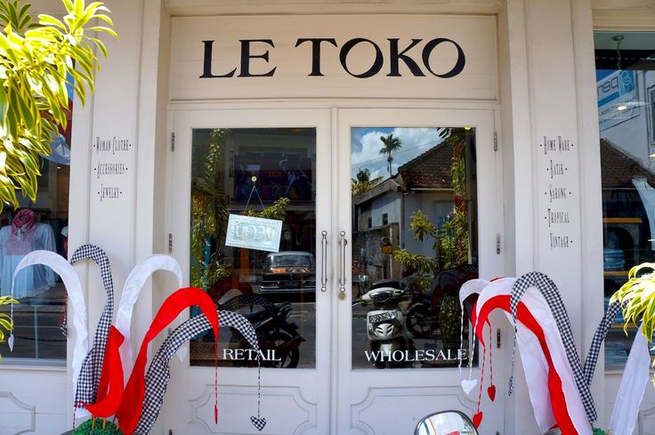 Find everything you need at Le Toko. Come in & walk out with a big smile on your face #letoko #conceptstore #bali