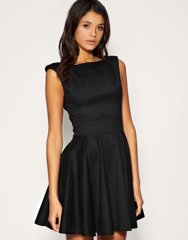 little black dressFull Skirts, Black Cocktails Dresses, Cute Dresses, Bridesmaid Dresses, Cocktail Dresses, Little Black Dresses, Asos Dresses, Black Love, Dresses Lov
