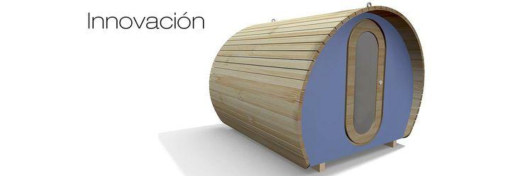 Bungalows de madera innovadores #arquitectura #madera #bungalows