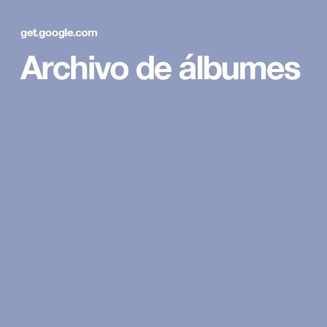 Archivo de álbumes