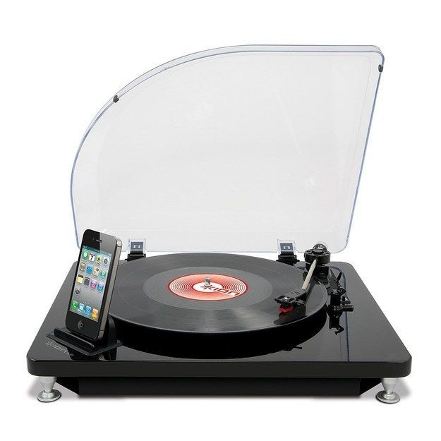 A digital conversion table to get your old records onto your iTunes. | 33 Gifts The iPhone Addict In Your Life Will Want