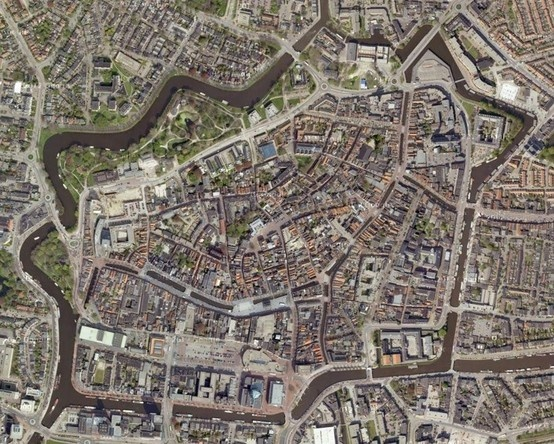Medieval Dutch Cities With Walls - Leeuwarden