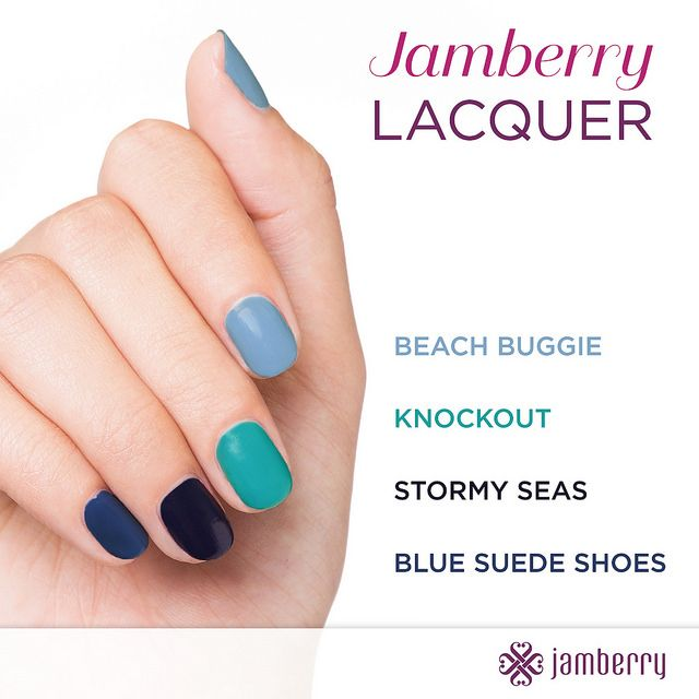 Latest JAMBERRY Nail Lacquers HTTPS://itsallaboutthe.jamberry.com Blues, nail polish, nails