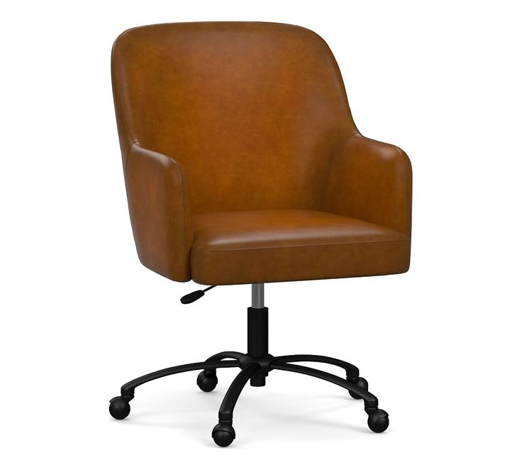 Dublin Leather Swivel Desk Chair Desk Chair Rocking Chair