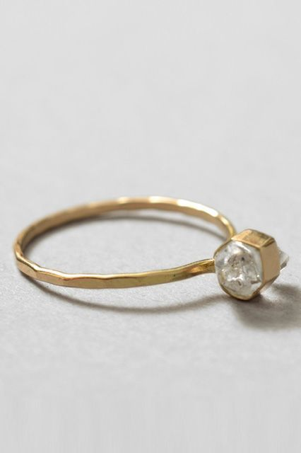 25 Unique Rings For The Offbeat Bride #refinery29  http://www.refinery29.com/67769#slide-8  ...