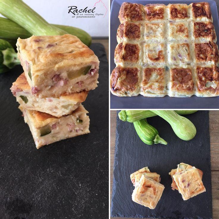 Quiche sans pâte courgettes, jambon. Une quiche sans pâte idéal pour une pique nique . Se mange chaud, tiède ou froid. Sain et équilibré.