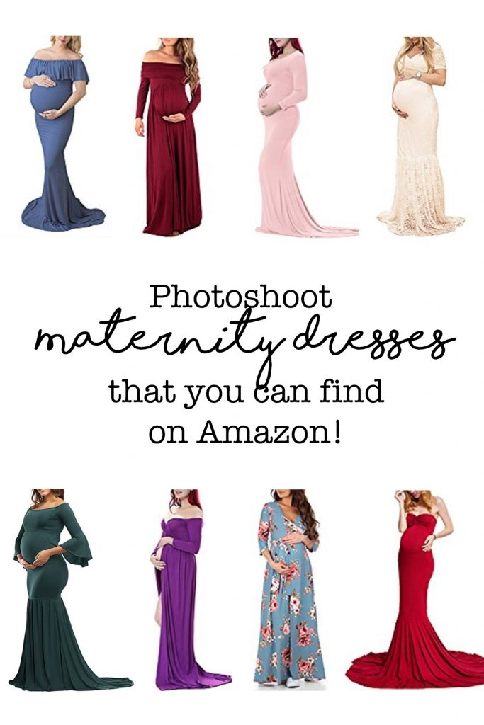 e67bdb7a22255 Photoshoot Maternity Dresses That You Can Find On Amazon. | Fashion! | Maternity  dresses for photoshoot, Maternity dresses, Cheap maternity dresses