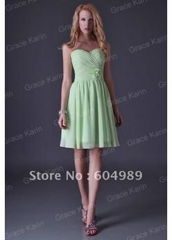 Wholesale Grace Karin Strapless Knee Length Special Occasion Dress Junior Cocktail Dresses for Bridesmaid amp; Party 8 Size CL3473, Free shipping, $29.42/Piece | DHgate jessica in pink