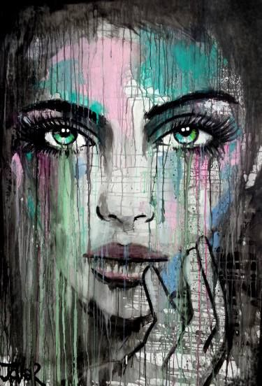 "Saatchi Art Artist Loui Jover; Painting, ""new muse"" #art"