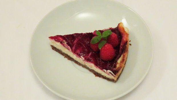 Malinovo-citronovy cheesecake