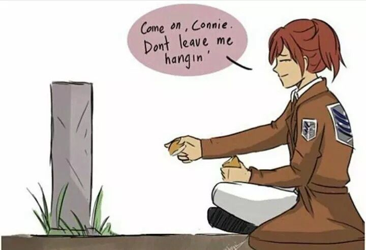 Why was this made :,( Sasha x Connie, Springles, attack on titan, AOT, SNK