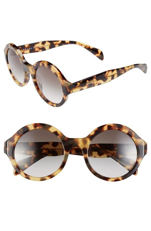 Sunglasses from Prada.