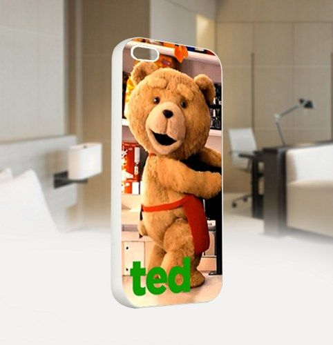 Ted The Movie - For IPhone 4 or 4S White Case Cover