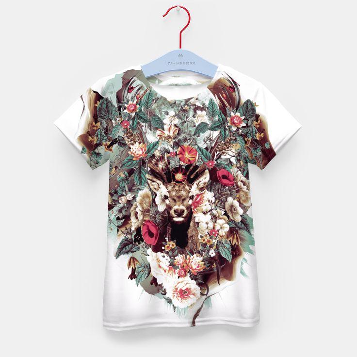 Deer Kid's T-shirt, Live Heroes
