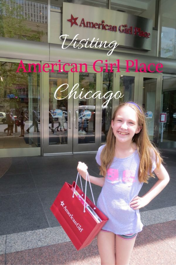 Visiting American Girl Place Chicago - Gone with the Family