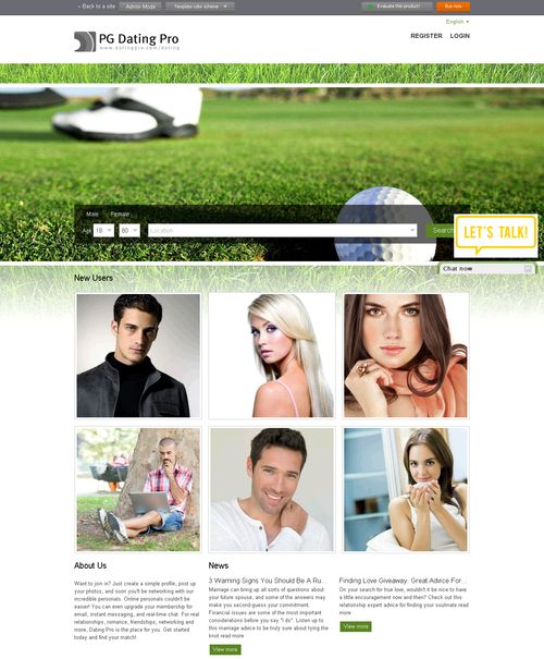 datingpro create your own dating site