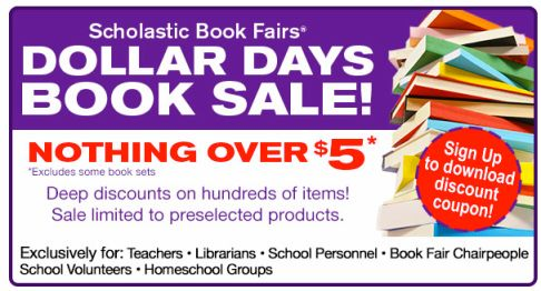 Scholastic book coupon january 2018
