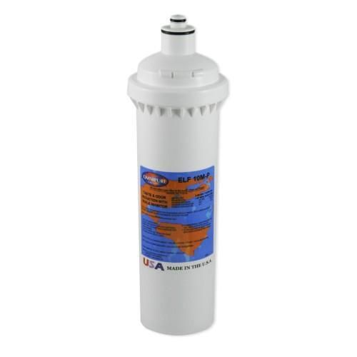 The ELF-Series from Omnipure. Cost-effective, point-of-use water filtration for high volume applications.  Made in the U.S.A.  ( This filter replaces the previously stocked ELF10MP) - The 2 lugs on the nipple allow it to fit Everpure series heads. (suitable replacement for 2CBGW 2CB5S)