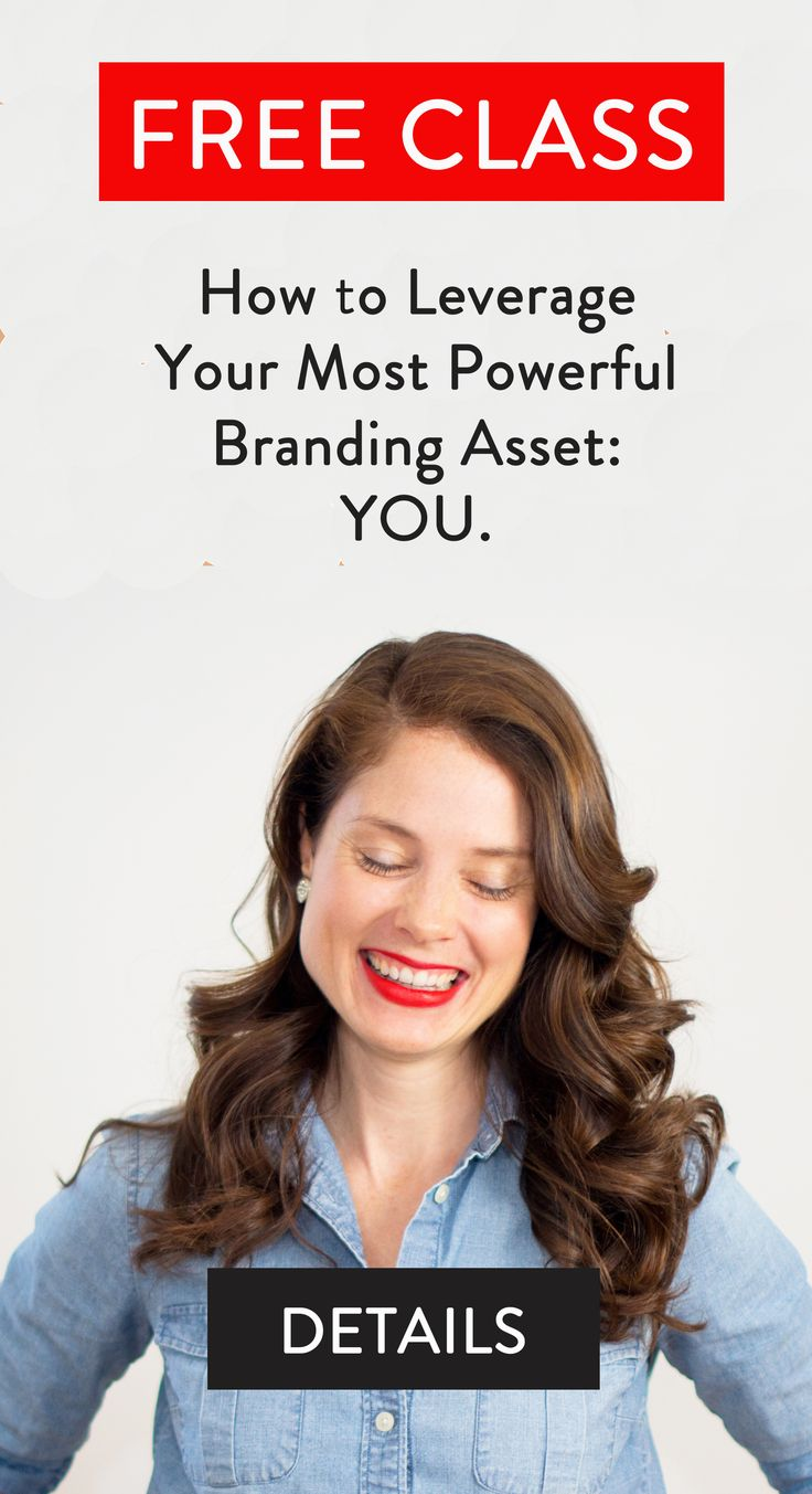 The only way to stand out as an entrepreneur is to brand yourself. If you're a health coach or in the wellness space, this free virtual class will teach you how to leverage who you are to create a distinct personal brand.