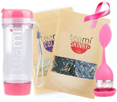 Teami relax blend and focus blens and tea cup. Breastfeeding approved and something I'd love to try.