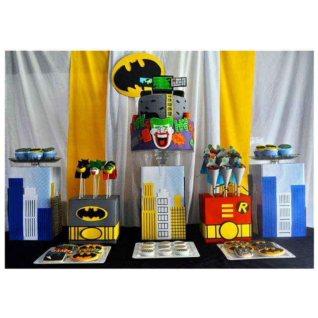 1000+ Images About Birthday Party: Batman On Pinterest