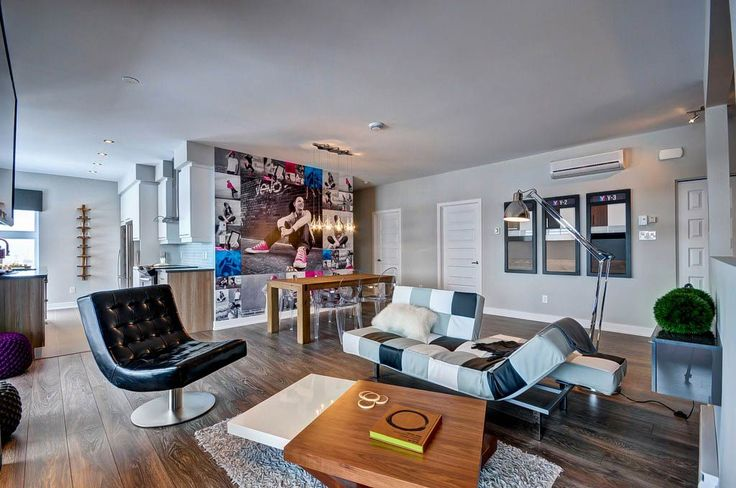 Y condos et Loft: Amazing lounge & living room - Architecture best of