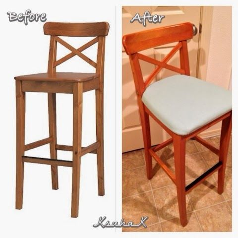 Folding bar stool ikea woodworking projects plans for Folding bar stools ikea