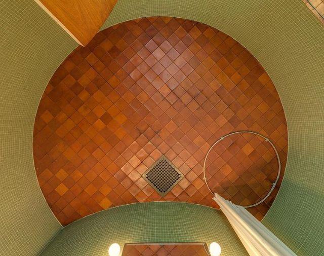 Philip Johnson Glass House Bathroom Ceiling Philip Johnson Glass House Glass House House Bathroom