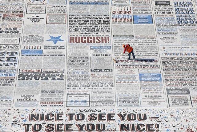 Comedy Carpet, Blackpool
