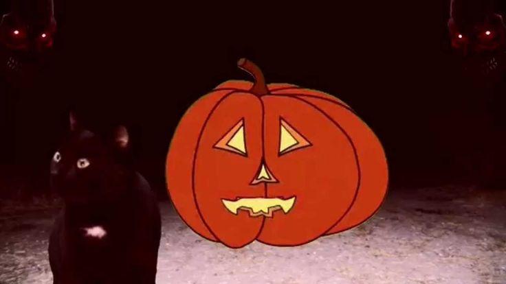 Spooky Halloween Pumpkin E-Card