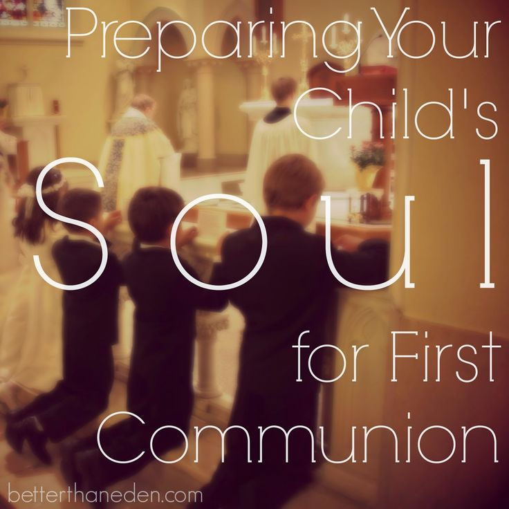 9 best catholic celebration images on pinterest catholic roman better than eden preparing your childs soul for first communion fandeluxe Gallery