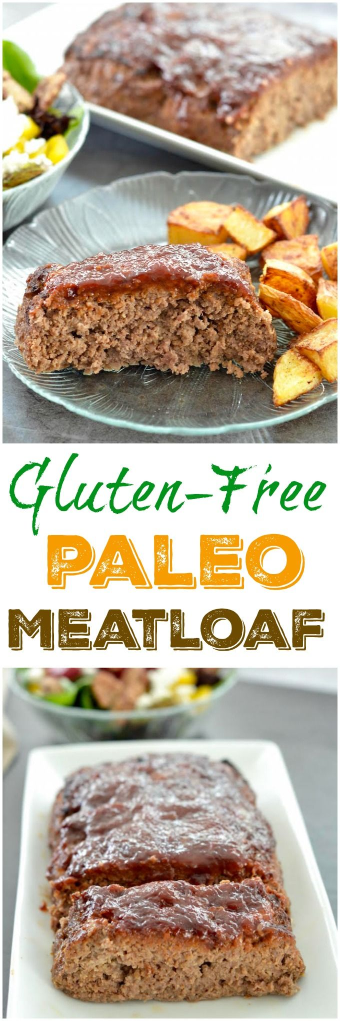 This Healthy Gluten-Free Paleo Meatloaf recipe is the perfect family dinner. Make it ahead of time and reheat on a busy night.