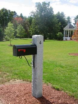 17 Best Images About Granite Lamp Post Amp Mailbox Post On