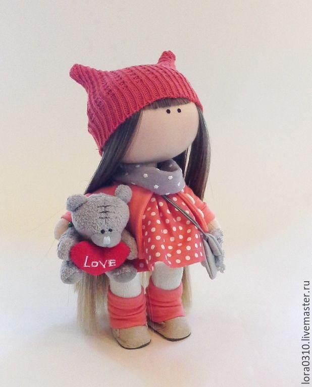Купить Лизонька - кукла ручной работы, текстильная кукла, интерьерная кукла, подарок на любой случай