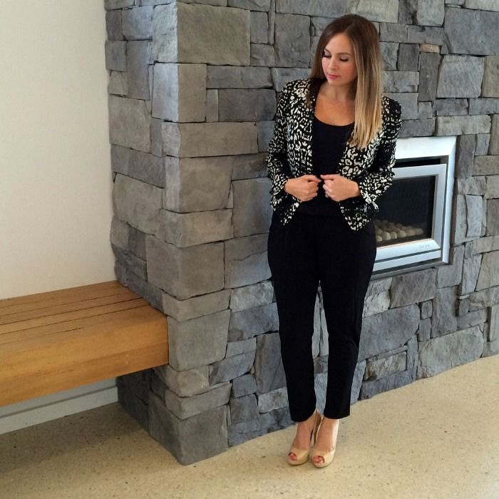 How To Dress Up A Jumpsuit Featuring The Black Jumpsuit