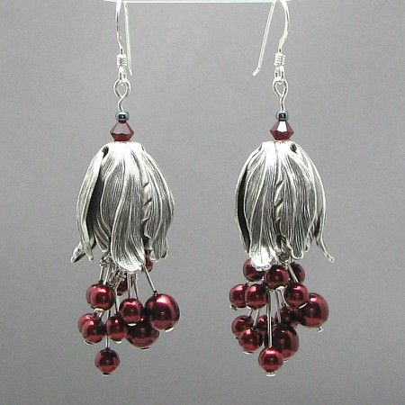Winter Berries by PacificJewelryDesign on Etsy