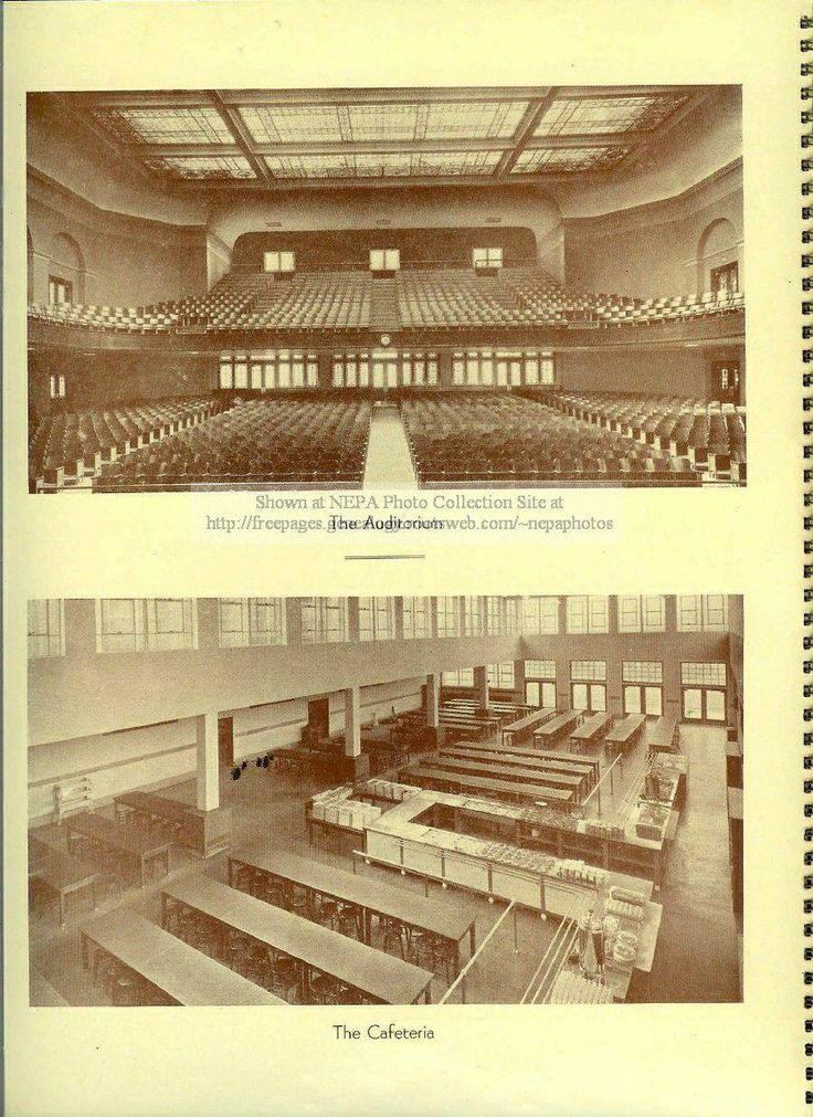 Meyers High school auditorium and cafeteria | ~*~WILKES ...