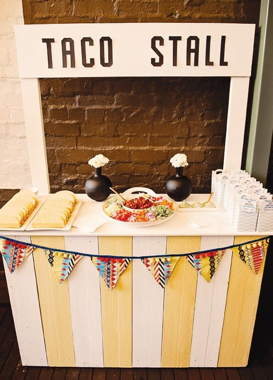 How to Decorate Food Stations   Theme Thursday