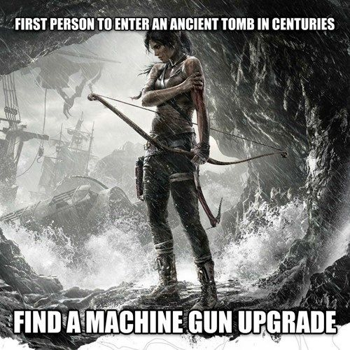 Tomb Raider Logic | 40 of the Most Ridiculous Examples of Video Game Logic